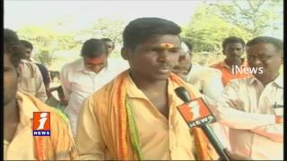 Organisers Objection On Non Hindus Are Not Entering To Temple At Siddotam   Mahabubnagar   iNews