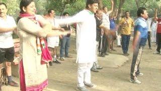 निगम चुनाव का अखाड़ा बने हुए हैं दिल्ली के पार्क
