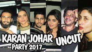 Karan Johar's Party 2017   Full HD Video   Shahrukh, Deepika, Ranveer, Alia, Sidharth, Kareena