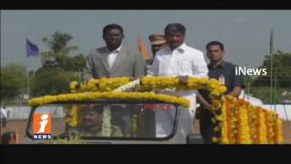 Padma Rao and Jalagam Venkat Rao Join in TS Formation Day Celebrations | Kothagudem | iNews