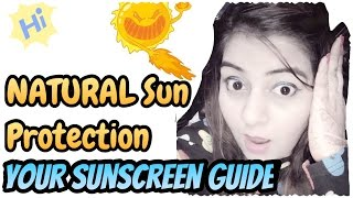 Natural Sun Protection TIPS | How to use Sunscreen | Facts & Myths on Sunscreen | JSuper Kaur