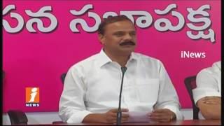 TRS MLC Karne Prabhakar Comments On TPCC Chief Uttam Kumar Reddy | Unemployment Scheme | iNews