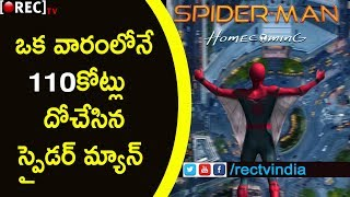 Spiderman First Day Collections | Spiderman movie collections | RECTVINDIA