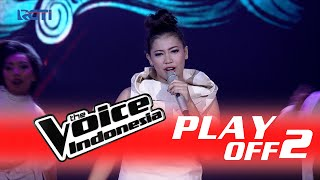 """Maria Stella """"Part Of Me"""" I PlayOff 2 I The Voice Indonesia 2016"""