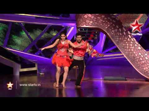 Nach Baliye 6 - 11th January 2014 - Ripu and Shivangi's samba dance