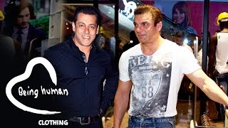 Salman Khan's Brother Sohail Launches 53rd Being Human Store In Mumbai