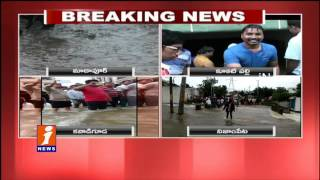 Flood Water Enter In to Houses | Heavy Rain In Hyd | KCR Review Meeting With GHMC Chief | iNews