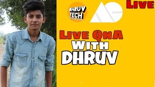 Live QnA With Dhruv