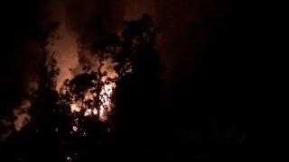 डलहौजी के जंगलों में लगी भयानक आग, दूसरे दिन भी नहीं पाया जा सका काबू
