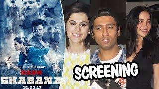 Naam Shabana Screening | Taapsee Pannu, Elli Avram | Full HD Video