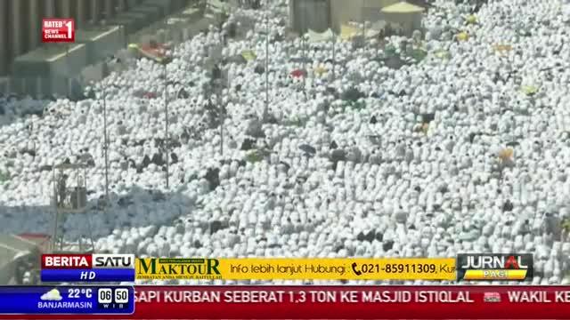 Sekitar Dua Juta Jemaah Haji Wukuf di Arafah