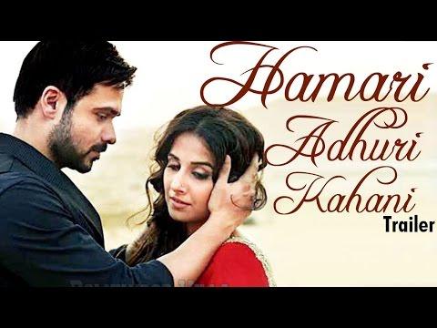 Hamari Adhuri Kahaani Official TRAILER RELEASED | Vidya Balan & Emraan Hashmi