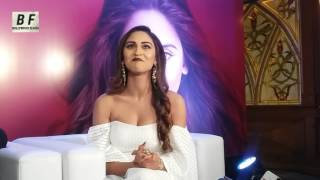 Beautiful Krystle D'souza Interview At Krystle D'souza App Launch