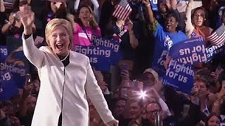 Clinton Supporters- 'She's the People's Choice' News Video