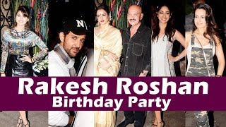 Hrithik Roshan THROWS A Grand Birthday Bash For Rakesh Roshan