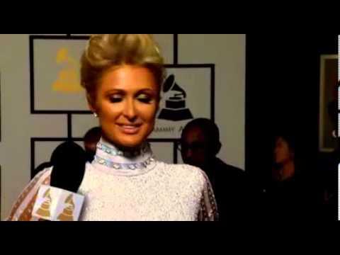 Grammy Awards 2014 Full Show - Paris Hilton INTERVIEW in Red Carpet Grammy Awards