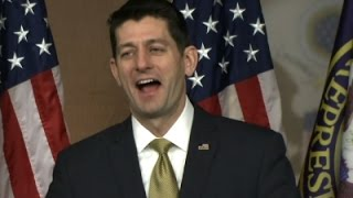 Ryan: I 'Laughed Out Loud' at Trump Threat
