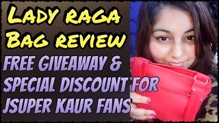 LADY RAGA BAG February 2017 | Free Giveway & JSuper Kaur Fans Discount