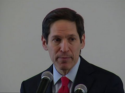CDC Head Encouraged by Ebola Spending Plan News Video