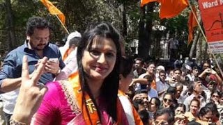 BMC polls- Shiv Sena, BJP workers celebrate across Mumbai