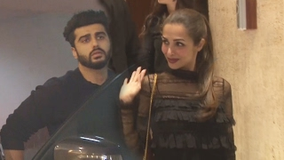 Malaika Arora & Arjun Kapoor PARTIES Together At LATE NIGHT