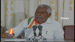 Congress Leader Jeevan Reddy Demands TRS Govt Over Support Price For Farmers | iNews
