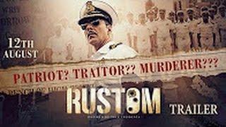 Rustom Official Trailer | Akshay Kumar, Ileana D'Cruz, Esha Gupta
