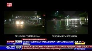 Jalan Medan Merdeka Bebas Banjir Usai Pembersihan Gorong-Gorong