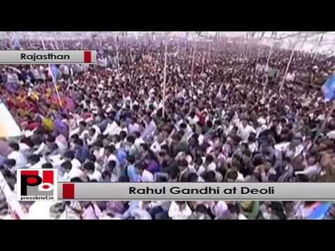 Rahul Gandhi- Congress will never forget the poor