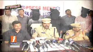 Police Busted Drugs Mafia Gang In Hyderabad | Be Careful | iNews