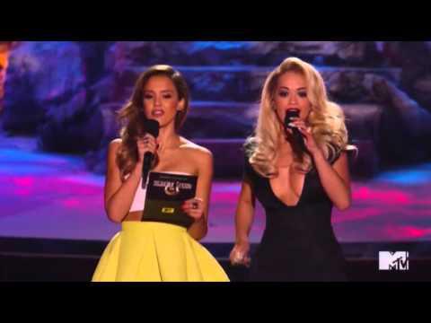 Ora Strips Efron at MTV Awards News Video
