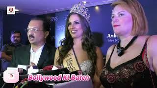 Star Cosmestic Beauty Amber Bernachi Miss Eco International 2017 & UN Eco Ambassador In India
