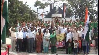 पाकिस्तान मुर्दाबाद के नारों के बीच मनाई विजय दिवस की स्वर्णजयंती