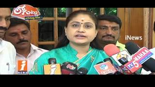 Vijayashanthi May Join TTDP Soon | Fight Against TRS Govt in Telangana | Loguttu | iNews