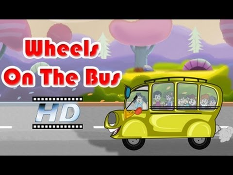 Wheels On The Bus - Nursery Rhyme - For Kids