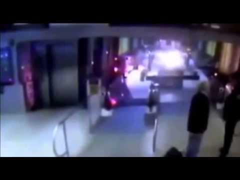 Raw- Video Shows Train Smashing Into Station News Video