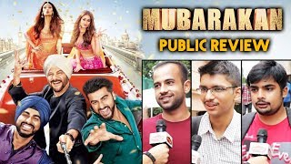 MUBARAKAN Public Review - Anil Kapoor, Arjun Kapoor, Ileana, Athiya