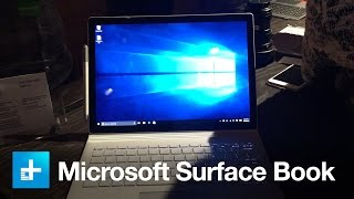 Microsoft Surface Book laptop - Hands on