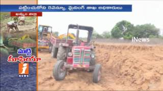 Illegal Soil Mafia Enraged With Political and Govt Officials Support in Khammam | iNews