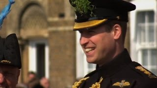 Prince William Attends St. Patrick's Day Parade News Video