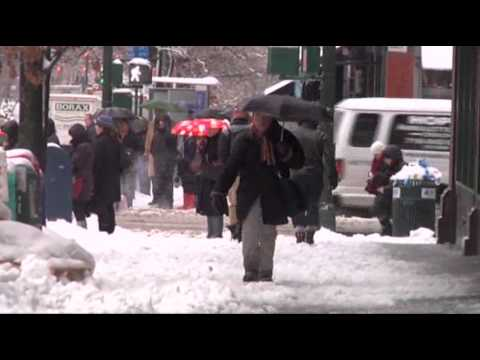 Snow Slams Northeast After Pounding Midwest News Video