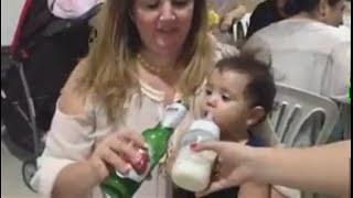 Video Lucu Bayi : Ini Bayi Gak Mau Minum Susu Malah Mintanya Bir -  Kumpulan Video Lucu Bayi