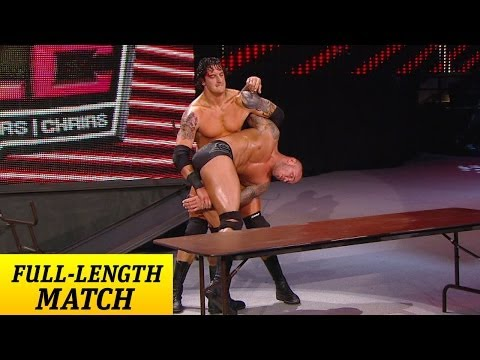 FULL-LENGTH PPV MATCH - TLC 2011 - Randy Orton vs. Wade Barrett - Tables Match - WWE Wrestling Video