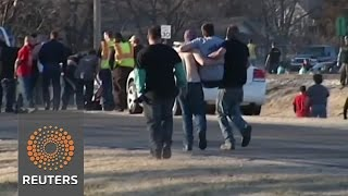 Kansas shooting spree, KKK stabbings News Video