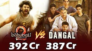 Baahubali 2 Hindi Version BREAKS Aamir's DANGAL Record - Highest Grossing Film