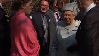 Queen Elizabeth Visits Zoo to Open Lion Exhibit News Video