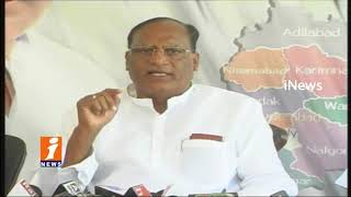 TRS Gutha Sukender Reddy Comments On Congress Leaders Over Bathukamma Sarees Distributes | iNews