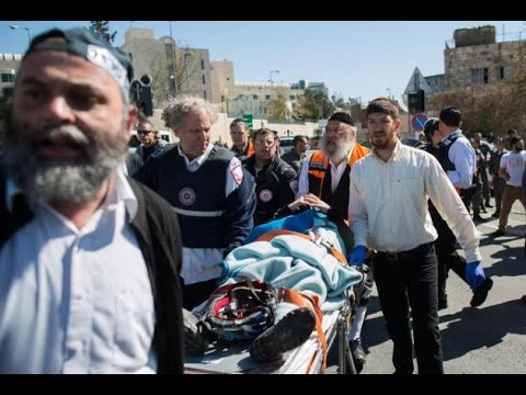 Jerusalem- Israelis wounded in Attack by Palestinian Driver News Video