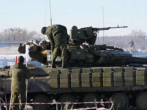 Raw- Pro-Russian Rebels in Military Exercise News Video