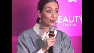 Malaika Arora Khan at Beauty India conference exhibition